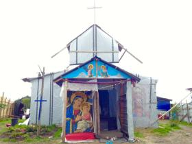 St. Michaels Jungle Church, Calais 2015-2016