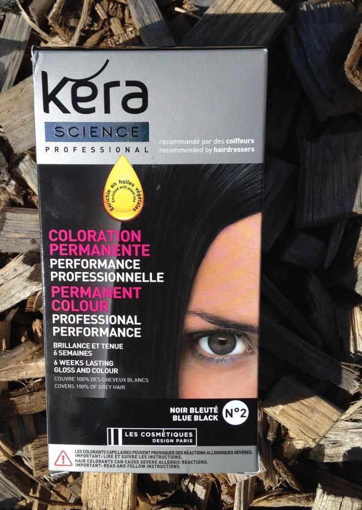 Kera black hair dye